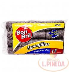 Esponja Bon Bril X 12 Unds