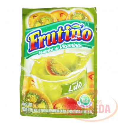 Refresco Frutiño X 2 Litros X 18 G Lulo