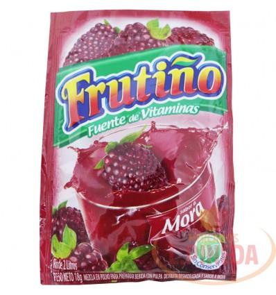 Refresco Frutiño X 2 Litros X 18 G Mora