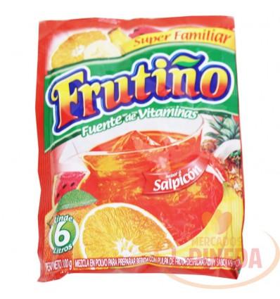 Refresco Frutiño X 6 Litros X 100 G Salpicon
