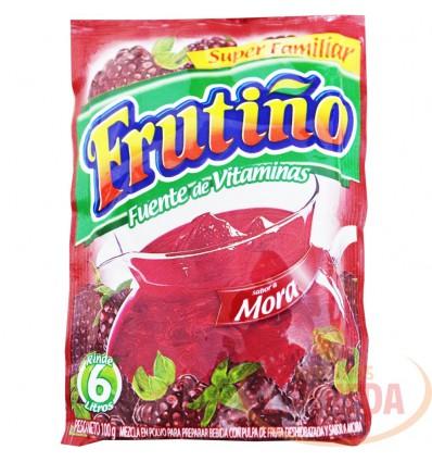 Refresco Frutiño X 6lts Mora 100 G