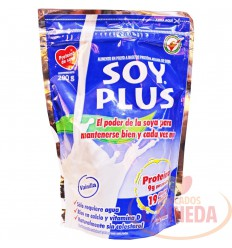 Leche Soya Soyplus 200 G Natural