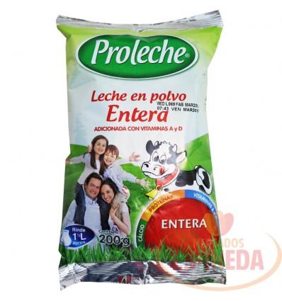 Leche Proleche X 200 G En Polvo Entera
