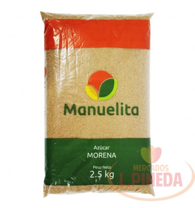 Azucar Morena Manuelita X 2500 G