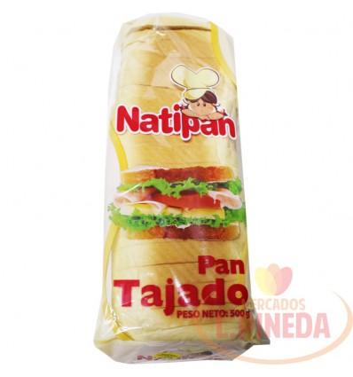 Pan Tajado Natipan X 500 G
