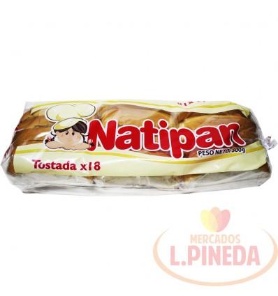 Tostada Natipan X 500 G Paqueton