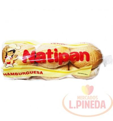 Pan Hamburguesa Natipan X 500 G 6 Unds