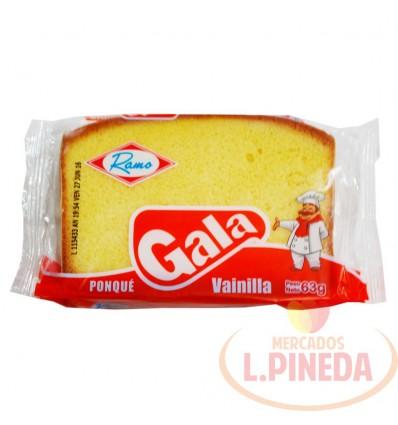 Ponque Gala X 63 G Vainilla