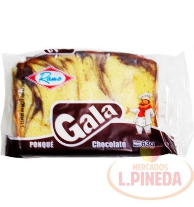 Ponque Gala X 63 G Chocolate