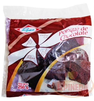 Ponque Ramo X 250 G Chocolate