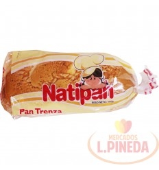 Pan Trenza Natipan X 500 G