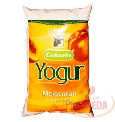 Yogurt Colanta Bolsa X 1000 G Melocoton