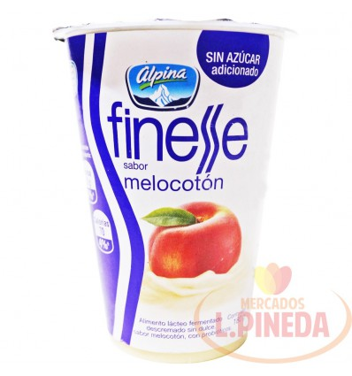 Yogurt Finesse Alpina X 180 G Melocoton