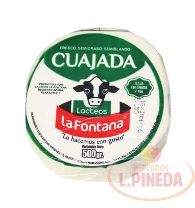 Cuajada La Fontana X 500 G