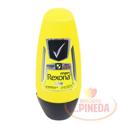 Desodorante Rexona Men X 50 ML Rollon V8