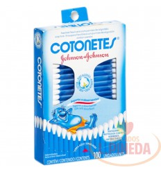 Copitos Cotones Johnsons X 100 Unid