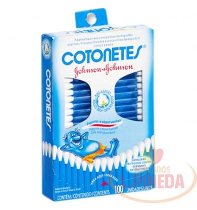 Copitos Cotones Johnsons X 100 Unid