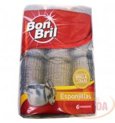 Esponja Bon Bril X 6 Unds Brillo