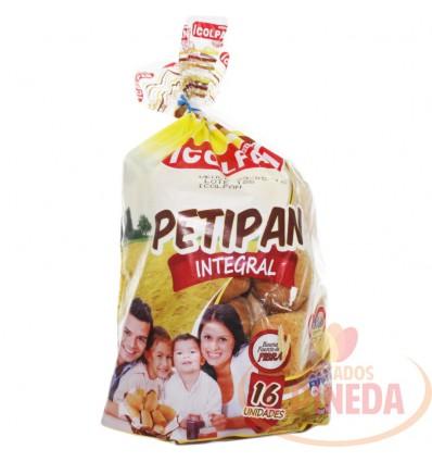 Pan Petipan Integral X 350 G 16 Unds