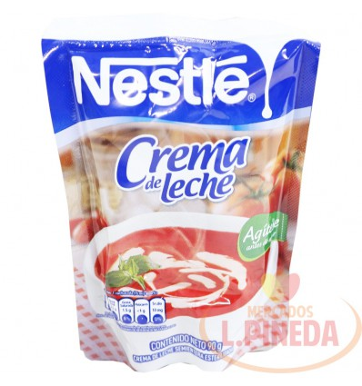 Crema De Leche Nestle X 90 G