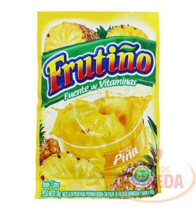 Refresco Frutiño X 2 Litros X 18 Piña Naranaja