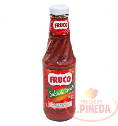 Salsa De Tomate X 400 G Fruco Frasco