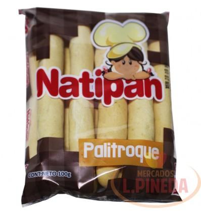 Pan Palitroque Natipan X 100 G