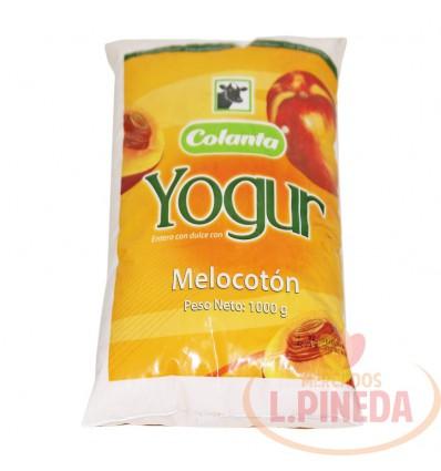 Yogurt Colanta X 1000 G Melocoton