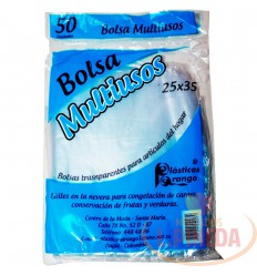 Bolsa Multiusos 25 X 35 Cm 50 Unds
