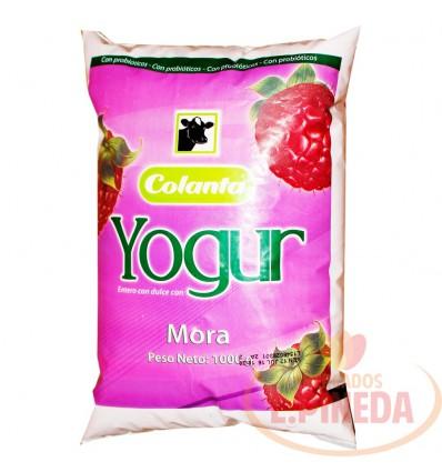 Yogurt Colanta X 1000 G Mora