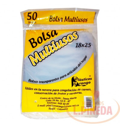 Bolsa Multiusos 18 X 25 Cm 50 Unds