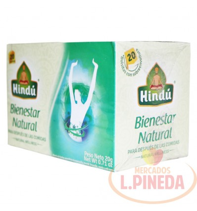 Aromaticas Hindú X 20 G Bienestar Natura