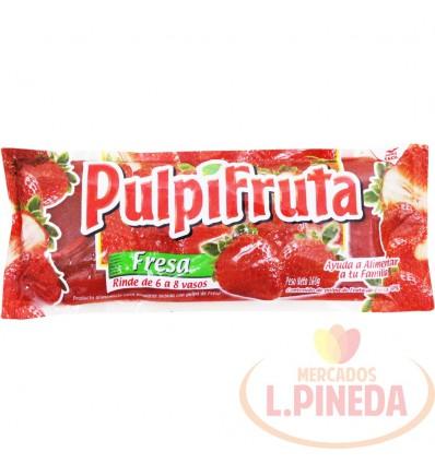 Pulpa De Fruta Pulpifruta X 160 G Fresa