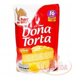 Mezcla Doña Torta 500 G Naranja