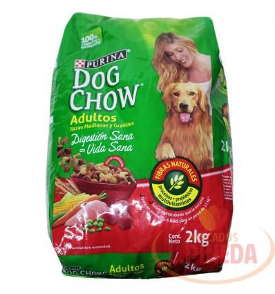 Cuido Perro Dogchow 2000 G Adultos Razas Medianas