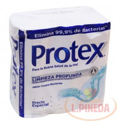 Jabon Baño Protex X 130 Limpieza Frofundsa Paq X 3