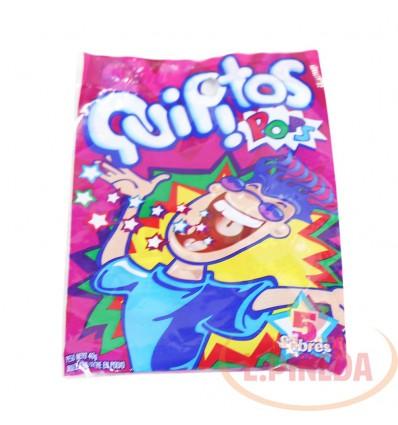 Quipitos Pops X 50 G X 5 Unds
