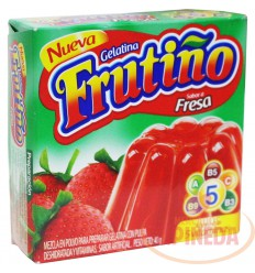 Gelatina Frutiño X 40 G Fresa