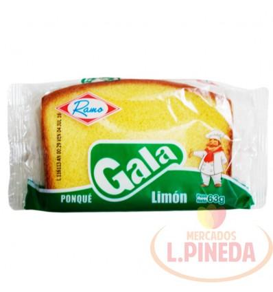 Ponque Gala X 63 G Limon