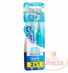 Cepillo Dental Oral B Suave 40 2 X 1