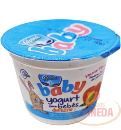 Yogurt Baby Alpina X 113 G Durazno