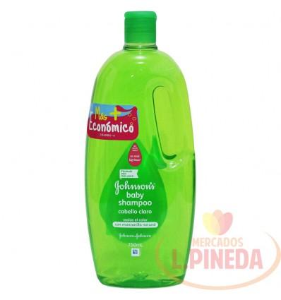 Shampoo Johnsons X 750 ML Cabello Claro