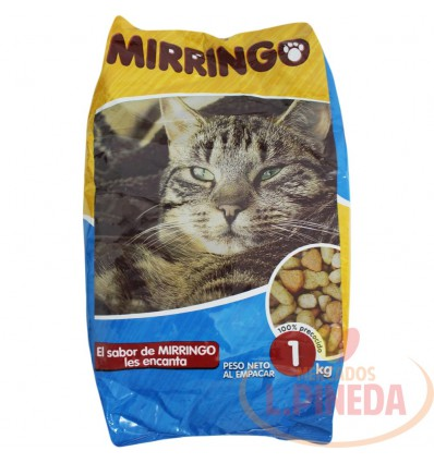 Cuido Para Gatos Mirringo X 1000 G