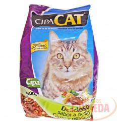 Cuido Para Gatos Cipacat X 500 G