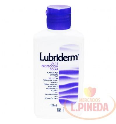 Crema Lubriderm X 120 ML Uv-15 Protecion