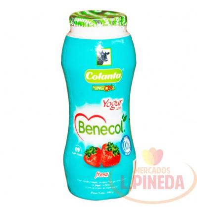 Yogurt Benecol Colanta X 100 G Fresa