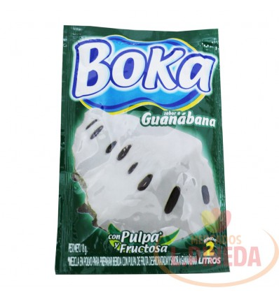 Refresco Boka X 2 L X 18 G Guanabana