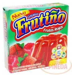 Gelatina Frutiño X 40 G Frutas Rojas