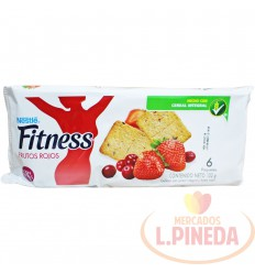 Galletas Fitness Nestle X 6 Un Frutos Rojos