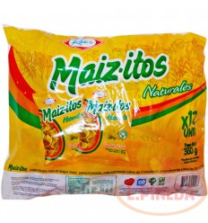 Mecato Maizitos X 30 G Naturales Paq X 12 Unid